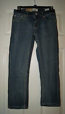 NWT Boys Youth Levi 511 Slim Stretch Jeans Blue or Black 5-14 Adjustable Waist