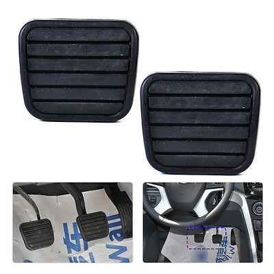New 2pcs Car Clutch Brake Pedal Pad Rubber Cover Fit For Great Wall V200 K2 2.0L