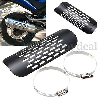 Motorcycle Exhaust Muffler Pipe Heat Shield Cover For Harley Chopper Cruiser New