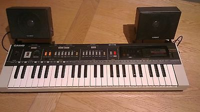 *CASIO MT-800 electronic keyboard synthesizer vintage music piano - EUC