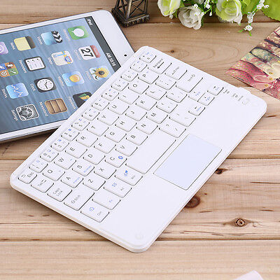 Mini Portable Wireless Bluetooth Keyboard with Touchpad for 7 inch tablets JR