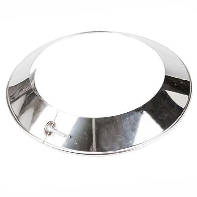 Stainless steel chimney roof collar, rain protection Ø 80 - 250mm