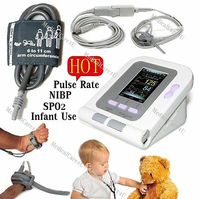 FDA Born/Pediatric Use Blood Pressure Monitor Infant SPO2 NIBP PR,USB,Software