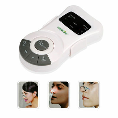 LED Rhinitis Allergy Reliever Allergic Hay Fever Laser Treatment Device Home Use