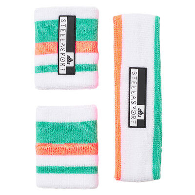adidas by Stella McCartney StellaSport Terry Set - 2 Wrist Bands and Headband