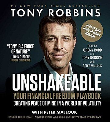 Unshakeable: How to Thrive Correction, by Tony Robbins, {Audio CD–Audiobook}