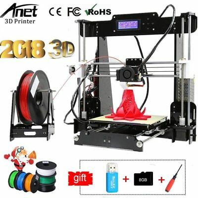 A8 3D-Printer Reprap Prusa i3 DIY Printer Kit 3D Desktop Drucker Anet sehr GUT!!