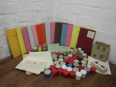 NICE COLLECTION OF VINTAGE MEDICAL 35mm FILM STRIPS WITH LECTURE NOTES