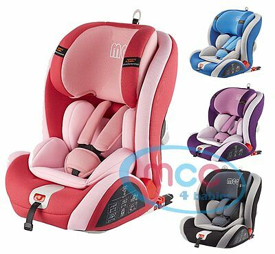 MCC ISOFIX Baby Car Seat Group 1/2/3 9-36kg ECE R44/04