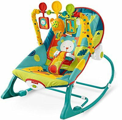 Baby Chair Swing Rocker Bouncer Feeding Seat Sleeper Toddler Music Toy Portable