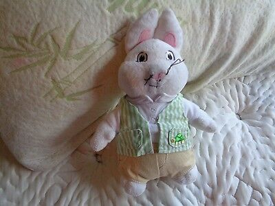2011 Max And Ruby Tv Children's Character Toy Figure Max Bunny Plush Doll Figure