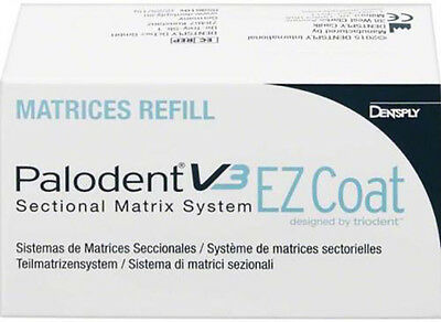 PALODENT V3 MATRIX EZ COAT REFILL ASSORTED 5x 50 UNITS DENTSPLY.