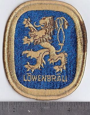 LOWENBRAU BEER Industrial Uniform Patch