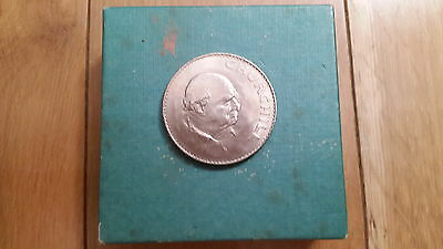 Churchill Commemorative Crown Coin 1965
