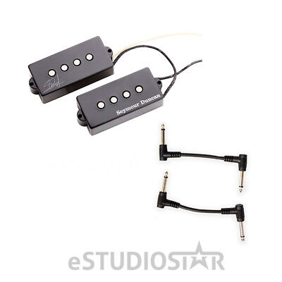 Seymour Duncan 11402-13 SPB-4 Steve Harris Sign P-Bass Pickup w/Free Patch Cable