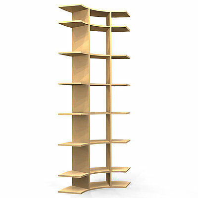 3' Wide Contour Display Shelf by Smart Furniture - C0603f001