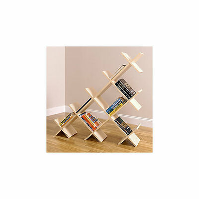 5' Wide Pyramid Bookshelf by Smart Furniture - 0305a001