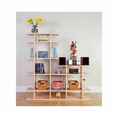 4' Wide 2-Tier Bookshelf by Smart Furniture - 0404s003