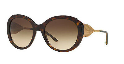d0a2b1944668 NWT Burberry Sunglasses BE 4191 3002 13 Havana Gold   Brown Gradient 57mm  300213
