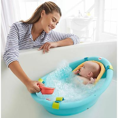 Fisher Price Rinse N Grow Bath Tub 3 Stages For A Growing Baby