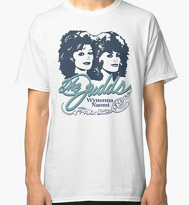 The Judds Step Brothers Wynonna Naomi Men's White Tees Tshirt S - 3XL