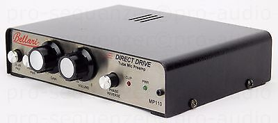 Bellari MP110 Direct Drive Tube Mic Preamp Valve Made in USA Neuwertig+ Garantie