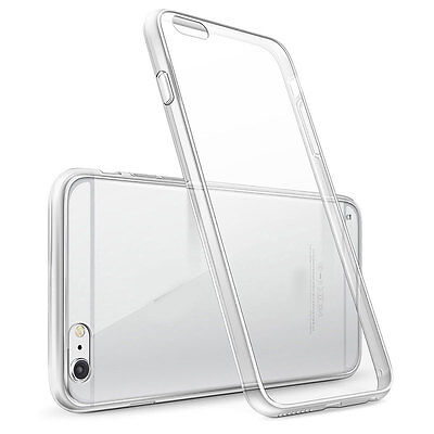 Clear Silicone Soft Skin Case Back Shockproof Cover For iPhone 5 5s SE 6 6s Plus
