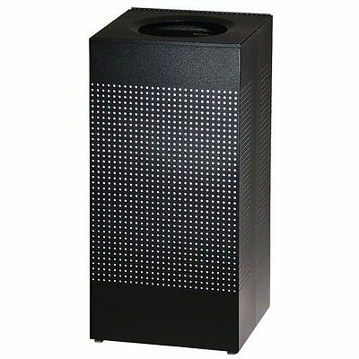 Rubbermaid Commercial Silhouette Designer Wastebasket, Square Open Top, 24 Gal