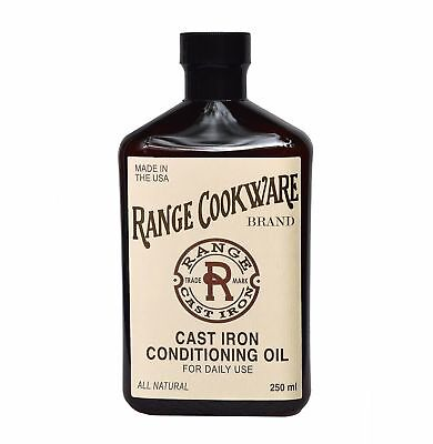 Range Cookware Natural Cast Iron Conditioning Oil Extra Large (9.5 oz.)