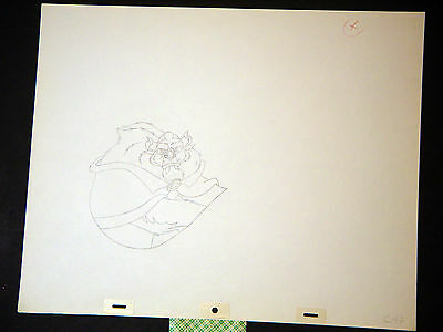 Beauty and the Beast - Original Walt Disney Animation Production Drawing (EE)