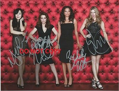 Pretty Little Liars - Hand Signed Photo With Coa - 4 Main Cast Autographed Photo