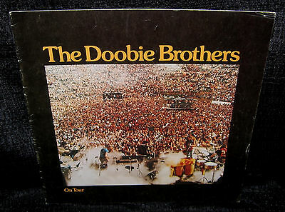 DOOBIE BROTHERS On Tour (1976 U.S. 24 Page 11.5inch x 11.5inch Tour Booklet)