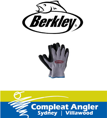 Berkley Fish Grip Gloves Universal Pair BRAND NEW At Compleat Angler