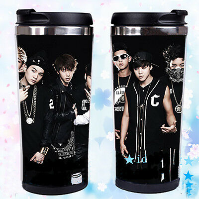 New Kpop BTS WINGS Cup Bangtan Boys Water Bottle Jung Kook JIN JIMIN V SUGA Mug