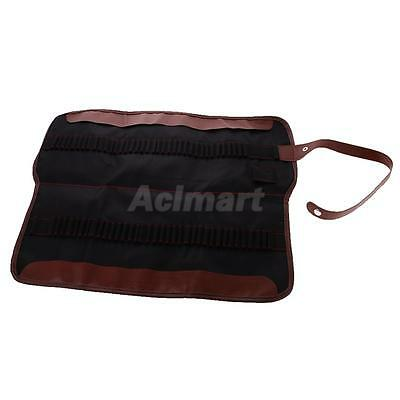 72 Slots Portable Roll-Up Canvas Travel Pouch Wrap Holder For Colored Pencil