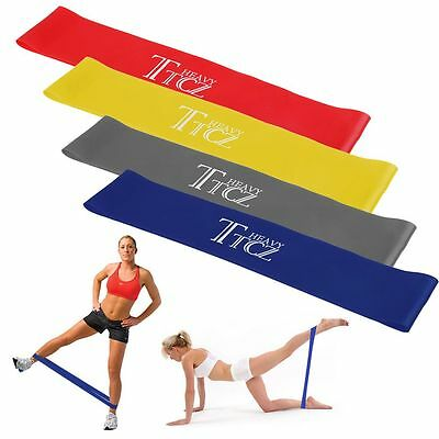 Resistance Loop Bands Exercise Yoga Gym Bands Rubber Fitness Training Strength
