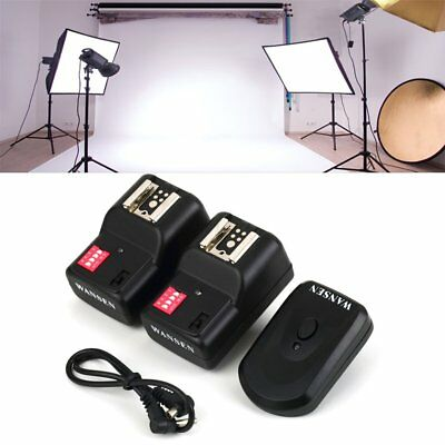 Wireless 4 Channels Practical Flash Trigger Transmitter With 2 Receivers Set M2