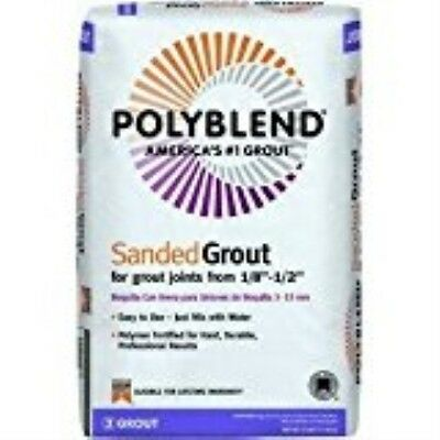 Custom Building Products 50 Polyblend Sanded Tile Grout, 25-Pound, Nutmeg Brown