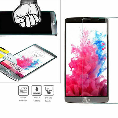 HQ Premium Real Tempered Glass Screen Protector Protective Film Guard for LG G3