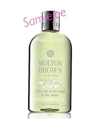 MOLTON BROWN DEWY LILY OF THE VALLEY & STAR ANISE Bath & Shower Gel 300ml New