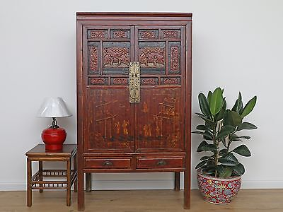 Wedding Cabinet Wardrobe File Cabinet Chinese Solid Wood China Asia DJ1704