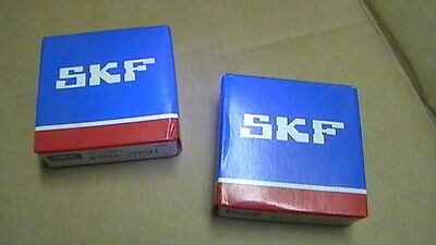 QTY 2 TWO  new SKF Bearings 6000 6200 6300 range type 2Z , 2RS , 2Z/C3 , 2RS/C3