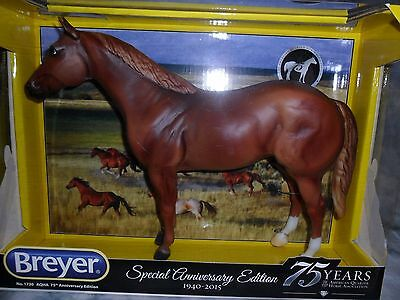 Breyer * AQHA 75th Anniversary * 1730 Chestnut Quarter Horse Traditional Model