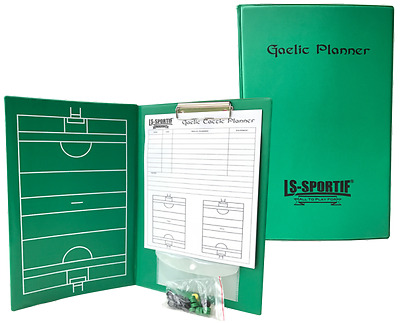 A4 Banisteoir gaa mangers tactic folder for hurling camoige etc