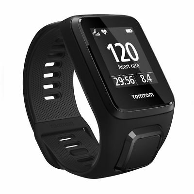 TomTom Spark 3 Cardio + Music GPS Fitness Sports Watch & Activity Tracker Large
