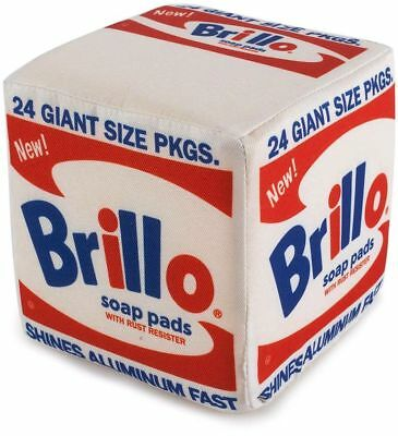 Kidrobot Andy Warhol - Brillo Box Plush