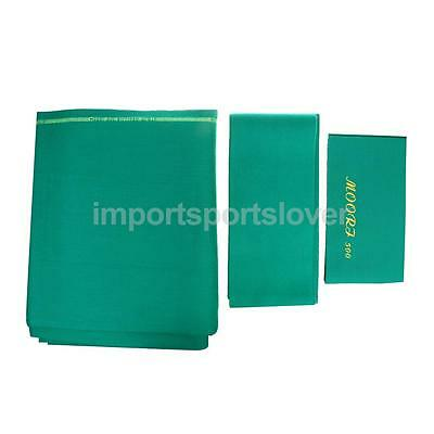 Wool Pool Snooker Table Cloth + 6x Felt Strips for 9ft Table