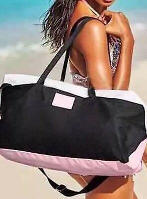 Victoria's Secret Large Weekender Gym/ Travel/duffle Bag Tote