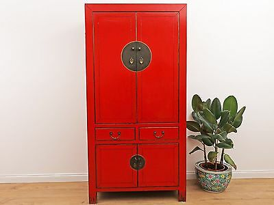 Wedding Cabinet Wardrobe Chinese File Cabinet Solid Wood China Asia DJ1925