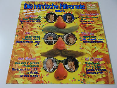 37540 - Die Närrische Hitparade Folge 3 - 1973 Karussell Vinyl Lp (Cut Out)